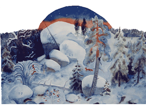 Adventskalender Julrosor