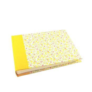 Photo Album flower rain yellow pink