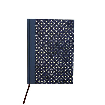 large Weekly Planner 2020 DinA5 pinny pattern blue
