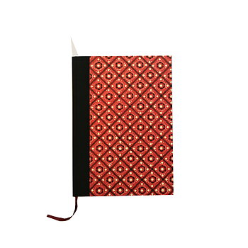 large Weekly Planner 2020 DinA5 pinny pattern red black