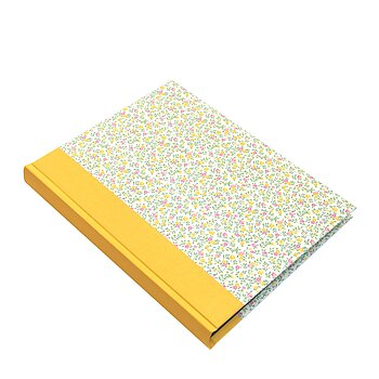 Large Portrait Photo Album Flower Rain yellow pink