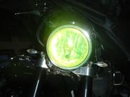 MC SAFE glas kupat runt, passar många mcmodeller