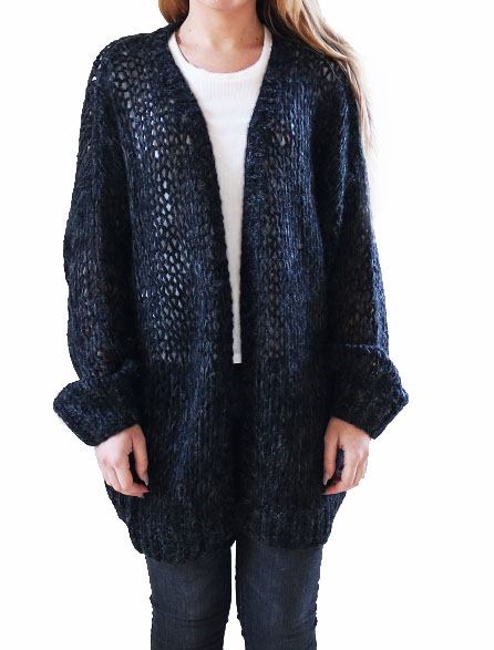 Savannah cardigan Black