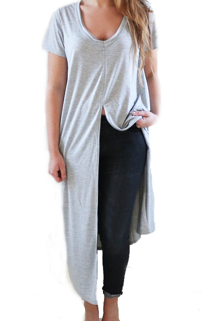 Brianna dress grey
