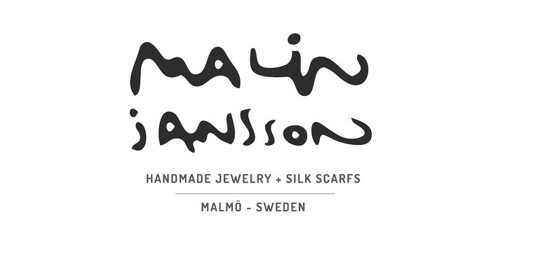 MALIN JANSSON - handmade JEWELRY and SILK SCARVES