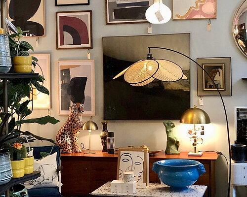 Möbler, Textil & Dekorativa Föremål