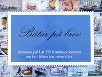 Båtar på brev - Mönstra på! Låt 150 frimärken berätta om hur båten har utvecklat