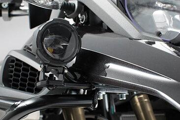 Extraljus fäste HAWK Light Mount Set  Black  BMW R 1200 GS (13-