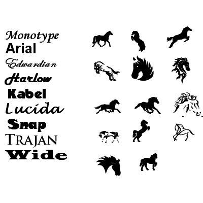 dekaler till hästtransport