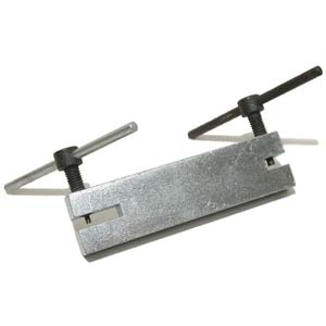 Håltagare för metall, 2 hålstorlekar.
