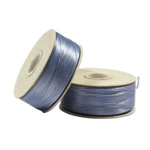 Ljust jeansblå nymotråd, storlek D.
