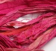 Sidenband i rosa färg, 2 meter