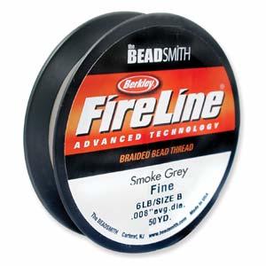 Fireline 0,17 mm tjock (8 lb) smoke