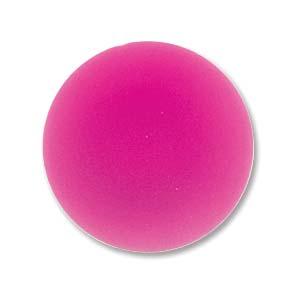 Lunasoft rund cab i en stark rosa färg, 18 mm.
