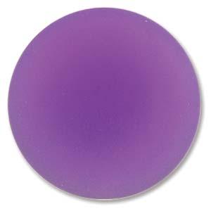 Lunasoft rund cab i färgen grape, 24 mm.