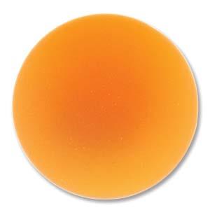 Lunasoft rund cab i färgen mango, 24 mm.