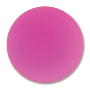 Lunasoft rund cab i rosa, 24 mm.