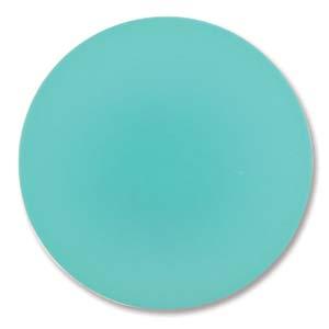Lunasoft rund cab i färgen spearmint, 24 mm.