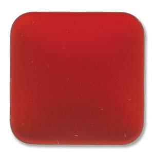 Lunasoft fyrkantig cab i färgen cherry, 17 mm.