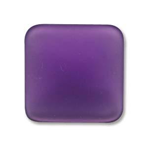 Lunasoft fyrkantig cab i färgen grape, 17 mm.