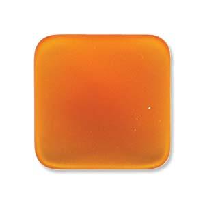 Lunasoft fyrkantig cab i färgen mango, 17 mm.
