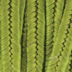 Soutache band, limegrönt. 2 meter