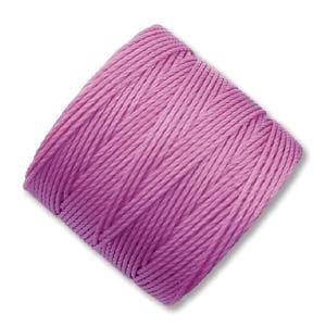 Rosa  S-Lon pärl-och makramétråd