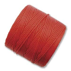 Klarröd S-Lon pärl-och makramétråd