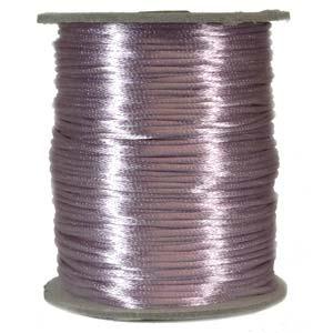 Lavendellila satinband, 2 mm. En meter.
