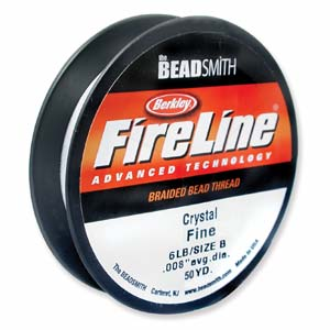 Fireline 0,15 mm tjock (6 lb) crystal