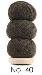 Tynd uld Brun