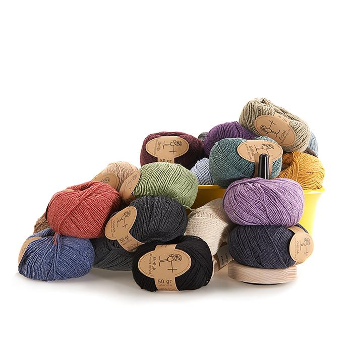 Geilsk - Bomull och ull
