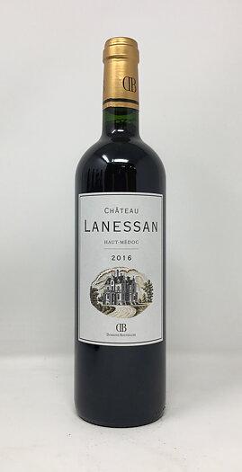 2016 CHATEAU LANESSAN, 75 cl