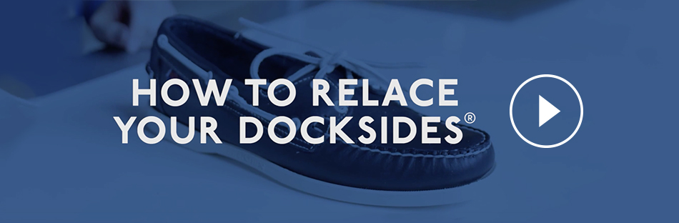 How to relace your Docksides