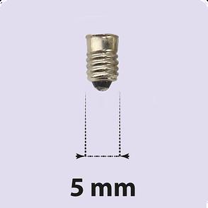Glödlampor, E5 sockel lamportillallt