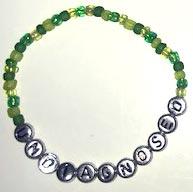 UNDIAGNOSED Bracelets green/silver