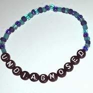 UNDIAGNOSED Bracelets blue-black