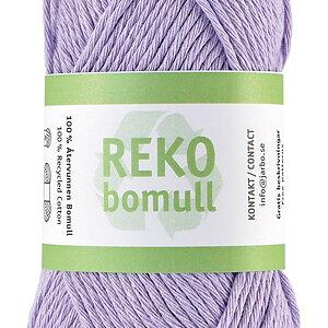 Reko Bomull i nya vackra färger!  Detta är orkidélila!