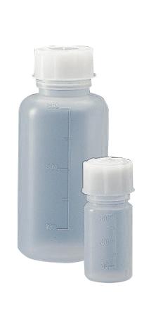 Graduated wide neck bottle, cylindrical, polypropylene, 100 ml, 100 pcs