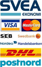 Frakt och betalalternativ på Extraljuskungen.se