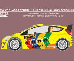 Ford Fiesta RS WRC Solberg ADAC Deutschland 2011