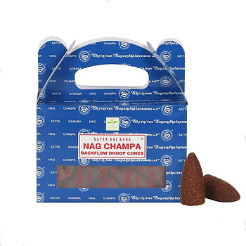 Rökelse Satya Backflow Dhoop NAG CHAMPA