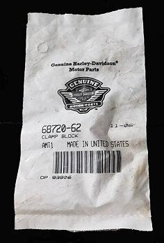 Harley Davidson OEM Clamp Block