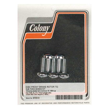 BULT SET BROMSSKIVA FRAM HD COLONY. PASSAR: 1984-15 FX; 1984-94 FXR; 1984-19 FLT/Touring, XL; 2006-17 Dyna