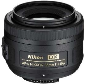 Nikon AF-S DX 35 mm f1,8G