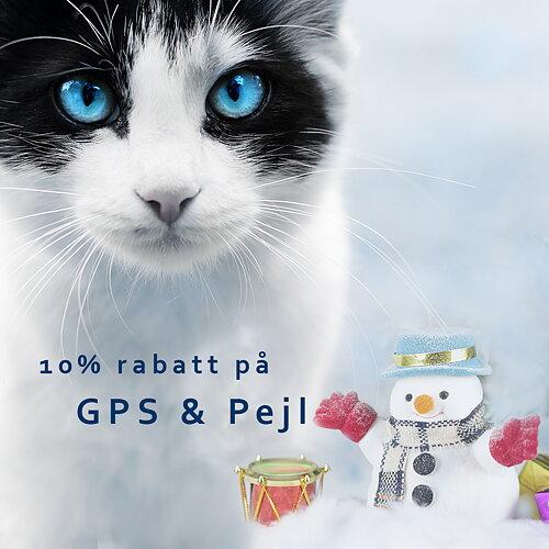 SmartCat GPS för katt Rabattkod: GPS2019 Läs mer