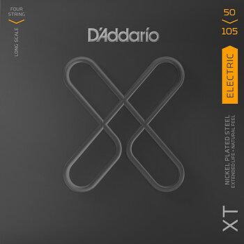 D'Addario XT Extended Life Bass Guitar Strings 050-105