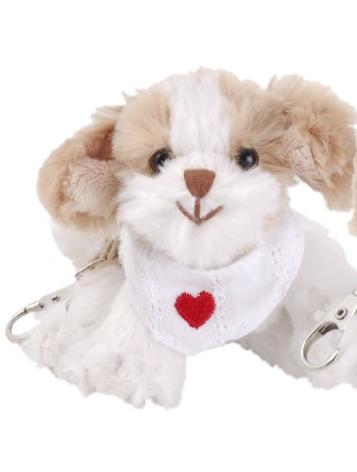 Nyckelring Beagle hund mjukisdjur pojke eller flicka