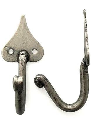 Krok antikgrått  smide ornament handsmidd shabby chic lantlig stil