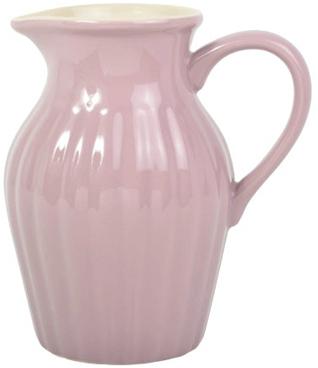 Stor kanna Mynte i rosa porslin